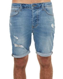 CHALK INDIGO MENS CLOTHING A.BRAND SHORTS - 811252613