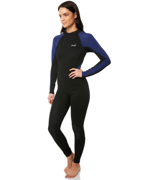 BLACK NAVY SURF WETSUITS XCEL STEAMERS - WN32GCS8BNV