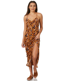 MUSTARD WOMENS CLOTHING TIGERLILY DRESSES - T383433MUST