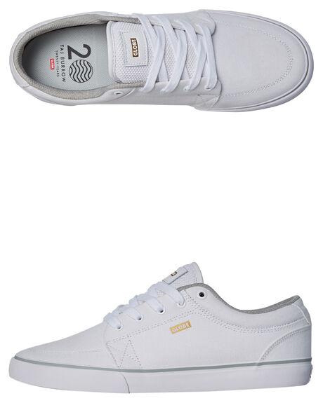 WHITE MENS FOOTWEAR GLOBE SNEAKERS - GBGS-11763