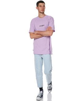 SOLID DARK PINK MENS CLOTHING STUSSY TEES - ST076010SDPNK