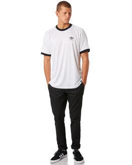 WHITE MENS CLOTHING ADIDAS TEES - CF5797WHT