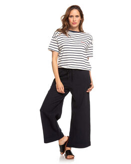 TRUE BLACK WOMENS CLOTHING ROXY PANTS - ERJNP03269-KVJ0