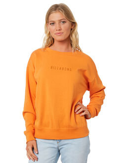 ORANGE WOMENS CLOTHING BILLABONG JUMPERS - 6585763ORG