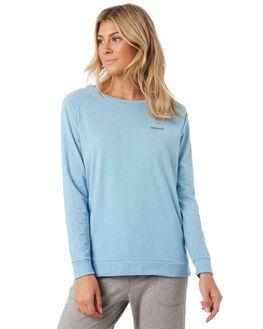 BREAK UP BLUE WOMENS CLOTHING PATAGONIA TEES - 38432BUPB