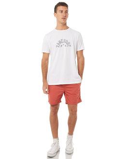 VINTAGE RED MENS CLOTHING ZANEROBE BOARDSHORTS - 612-TDKVRED