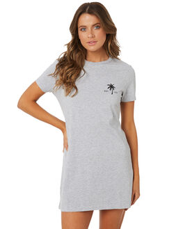 GREY WOMENS CLOTHING BILLABONG DRESSES - 6572494XGREY
