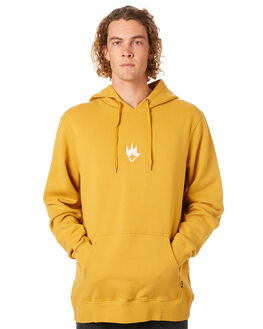 MUSTARD MENS CLOTHING AFENDS JUMPERS - M182512MUST