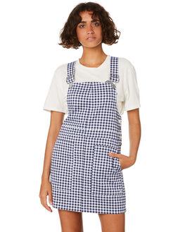 MIDNIGHT BLUE WOMENS CLOTHING VOLCOM DRESSES - B1311920MDB