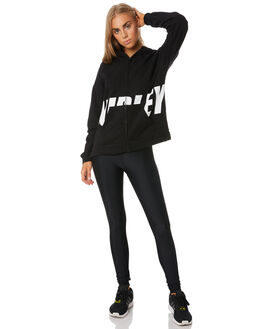 BLACK WOMENS CLOTHING HURLEY JUMPERS - CJ8738010