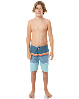 BLUE KIDS BOYS RIP CURL BOARDSHORTS - KBORG70070