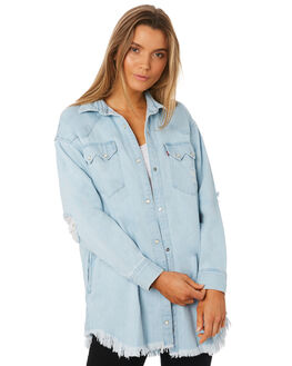 WHAT I GOT WOMENS CLOTHING LEVI'S FASHION TOPS - 56404-0001WIG