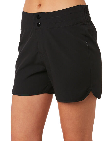 BLACK OUTLET WOMENS SWELL SHORTS - S8202232BLK