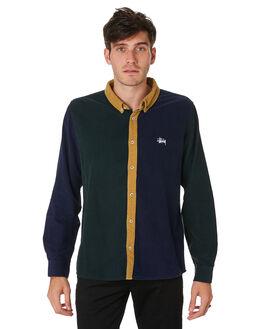 MULTI MENS CLOTHING STUSSY SHIRTS - ST091406MULT