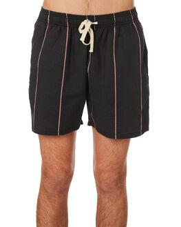 BLACK MANGO MENS CLOTHING ZANEROBE SHORTS - 602-RSPBKMAN
