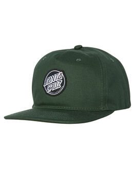 GREEN MENS ACCESSORIES SANTA CRUZ HEADWEAR - SC-MCA7374GRN