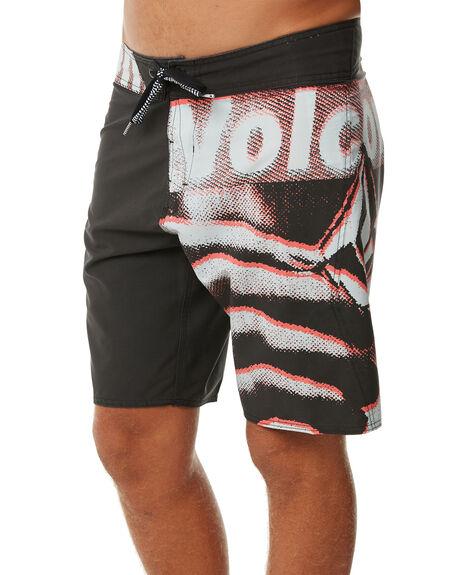 BLACK MENS CLOTHING VOLCOM BOARDSHORTS - A0811816BLK