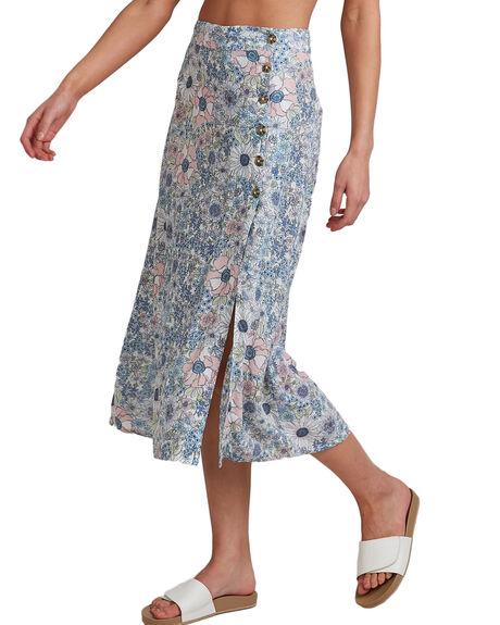 BLUE WOMENS CLOTHING BILLABONG SKIRTS - BB-6503327-BLU