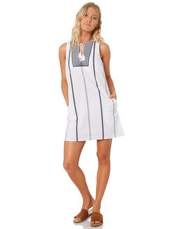 WHITE WOMENS CLOTHING ELWOOD DRESSES - W84703WHT
