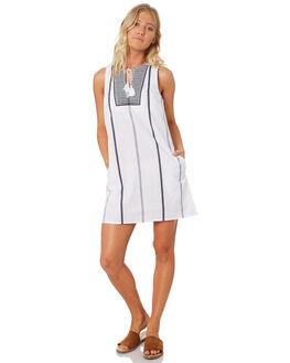 WHITE WOMENS CLOTHING ELWOOD DRESSES - W84703WHT