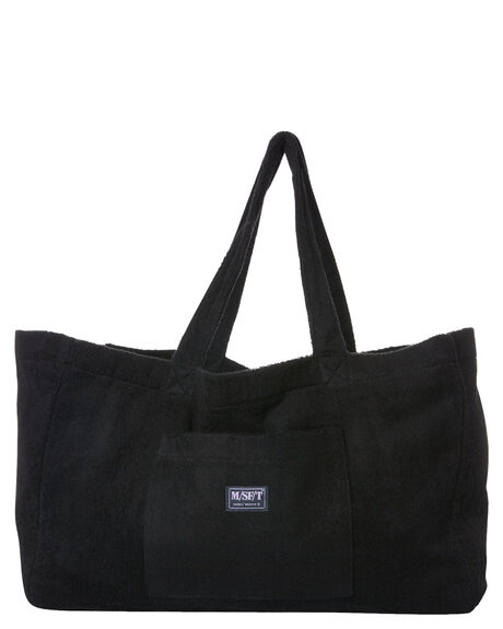 BLACK TERRY WOMENS ACCESSORIES MISFIT BAGS + BACKPACKS - MT702012BLK