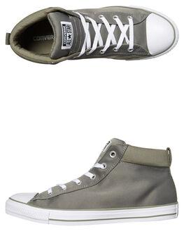 DARK STUCCO WHITE MENS FOOTWEAR CONVERSE SNEAKERS - 159769STUC