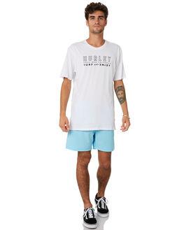 WHITE MENS CLOTHING HURLEY TEES - MTSPSURG100