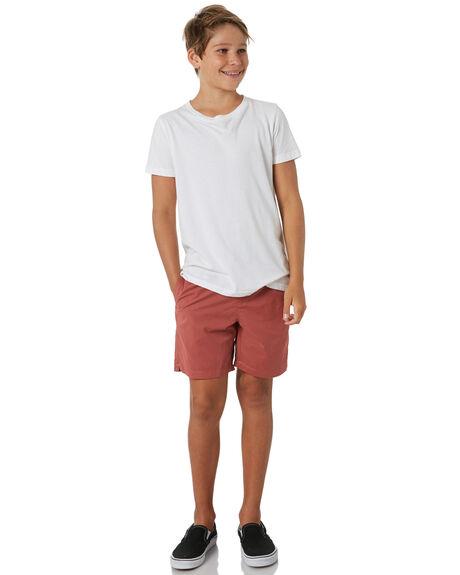 DARK CORAL KIDS BOYS SWELL SHORTS - S3164231DCOR