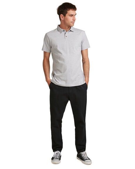 LIGHT GREY HEATHER MENS CLOTHING QUIKSILVER SHIRTS - EQYKT04021-SJSH