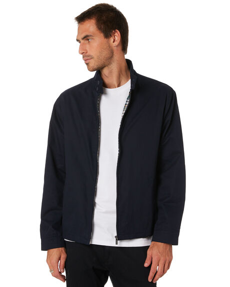 NAVY MENS CLOTHING MR SIMPLE JACKETS - M-09-38-04NVY