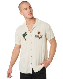 DIRTY WHITE MENS CLOTHING THE CRITICAL SLIDE SOCIETY SHIRTS - SS1867DTWHT