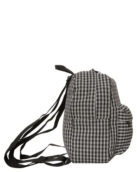 BLACK PLAID OUTLET WOMENS RVCA BAGS + BACKPACKS - R283451BAPLD