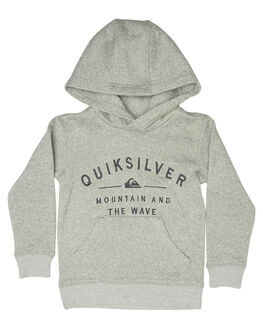 LIGHT GREY HEATHER KIDS TODDLER BOYS QUIKSILVER JUMPERS - EQKFT03249SJSH