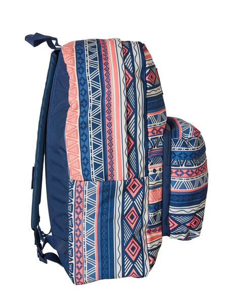 NAVY COLOUR GEO OUTLET WOMENS JANSPORT BAGS + BACKPACKS - JST50F-JS0WV