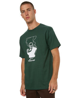 FOREST GREEN MENS CLOTHING PASS PORT TEES - FRYUPFGRN