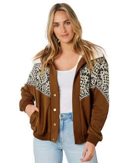 CARAMEL WOMENS CLOTHING O'NEILL JACKETS - 5921505CML