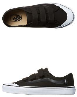 BLACK MENS FOOTWEAR VANS SNEAKERS - VN-0XSZBLKBLK