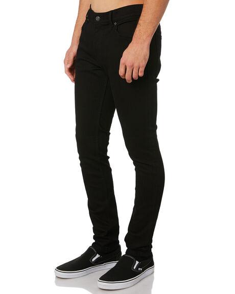 NEW BLACK MENS CLOTHING CHEAP MONDAY JEANS - 0101885NBLK