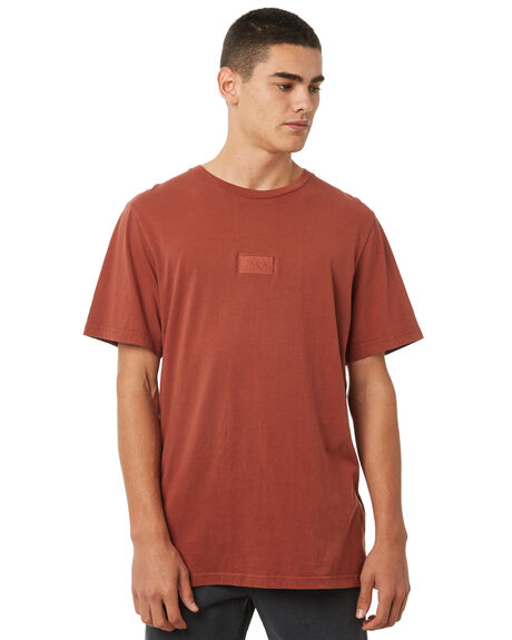RUST OUTLET MENS RVCA TEES - R181061RUST