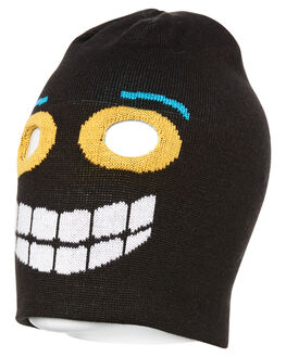 BLACK KIDS BOYS RUSTY HEADWEAR - HBR0131BLK