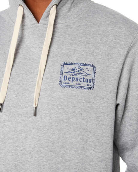 GREY MARLE MENS CLOTHING DEPACTUS JUMPERS - D5203443GRYMA