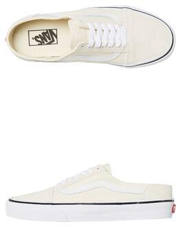 WHITE WHITE WOMENS FOOTWEAR VANS SNEAKERS - SSVNA3MUSFRLWHTW
