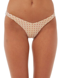 PALE LILAC WOMENS SWIMWEAR BILLABONG BIKINI BOTTOMS - 6572607PLIIL