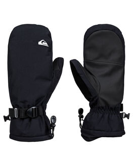 BLACK BOARDSPORTS SNOW QUIKSILVER GLOVES - EQYHN03126-KVJ0