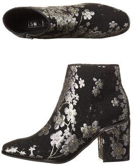 FLORAL WOMENS FOOTWEAR SOL SANA BOOTS - SS172W338FLO