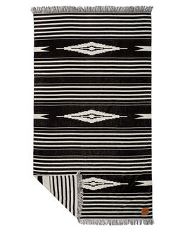BLACK MENS ACCESSORIES SLOWTIDE TOWELS - ST159BLK