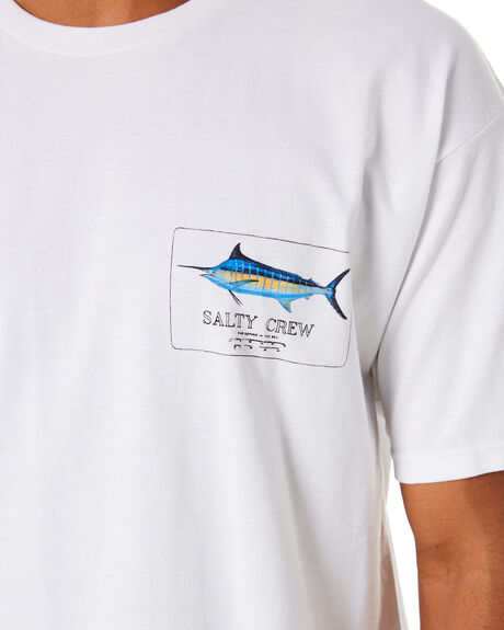 WHITE MENS CLOTHING SALTY CREW TEES - 20035059WHT