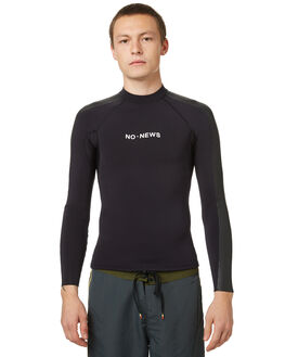 VINTAGE BLACK BOARDSPORTS SURF NO NEWS MENS - N5174120VBLK