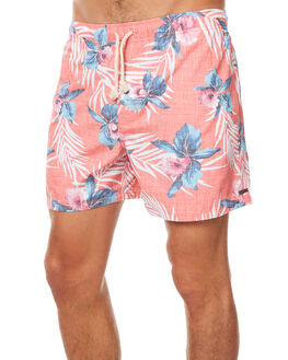 RED MENS CLOTHING RIP CURL BOARDSHORTS - CBOOO10040