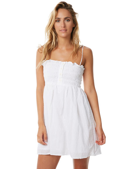 WHITE OUTLET WOMENS RUE STIIC DRESSES - S118-62WHT